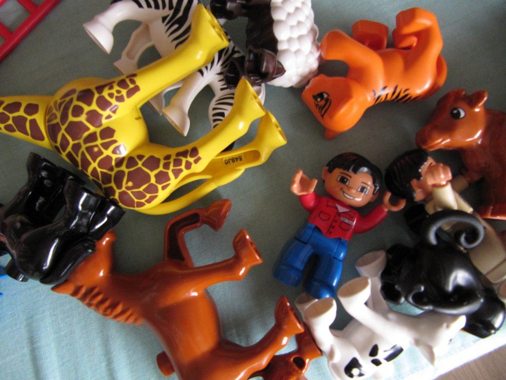 Legofiguren durcheinander