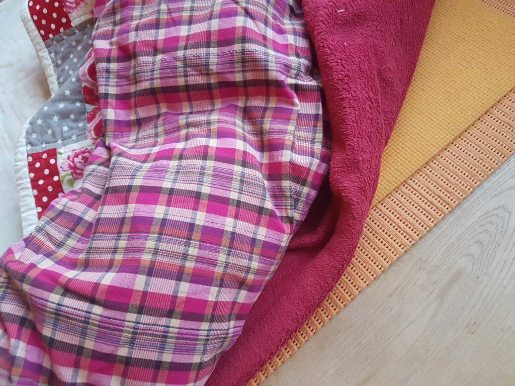 Hart schlafen nur auf Decken